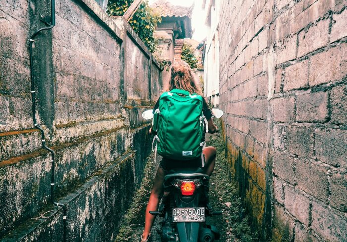 Scooterfahrt in Ubud auf Bali