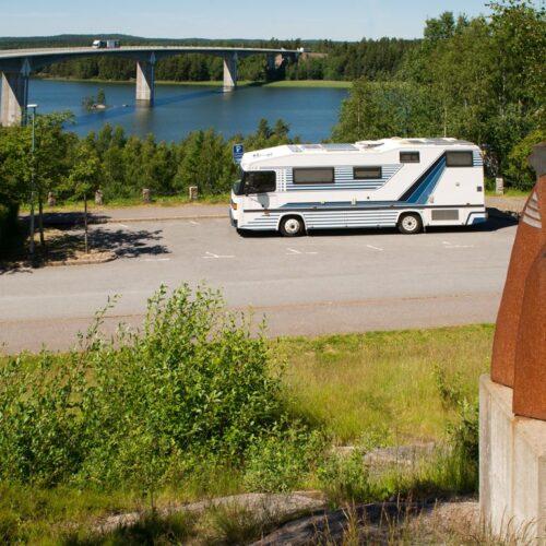 Reisemobil in Schweden