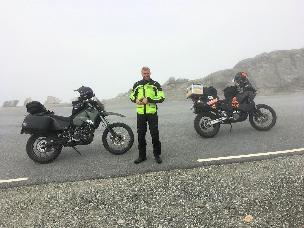 Fjordnorwegen mit dem Motorrad - Nebel am Dalsnibba