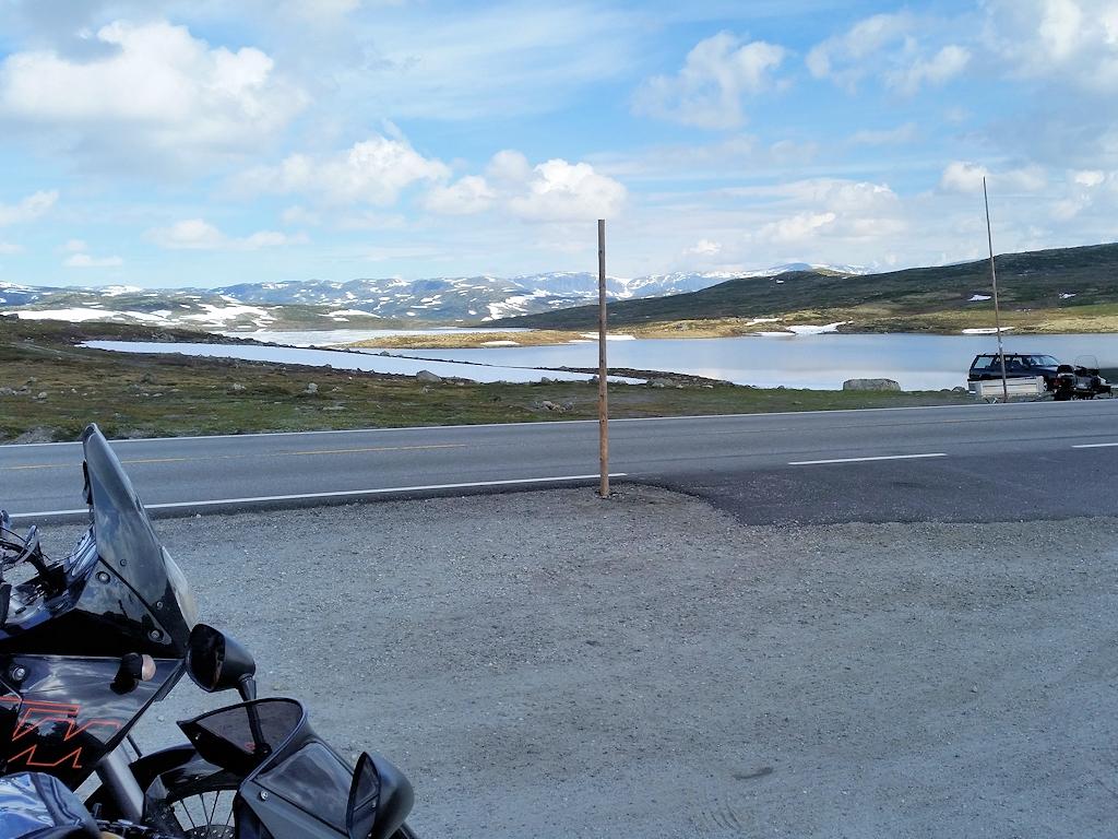 Vom Nationalpark Hardangervidda auf die Landschaftsroute Valdresflye