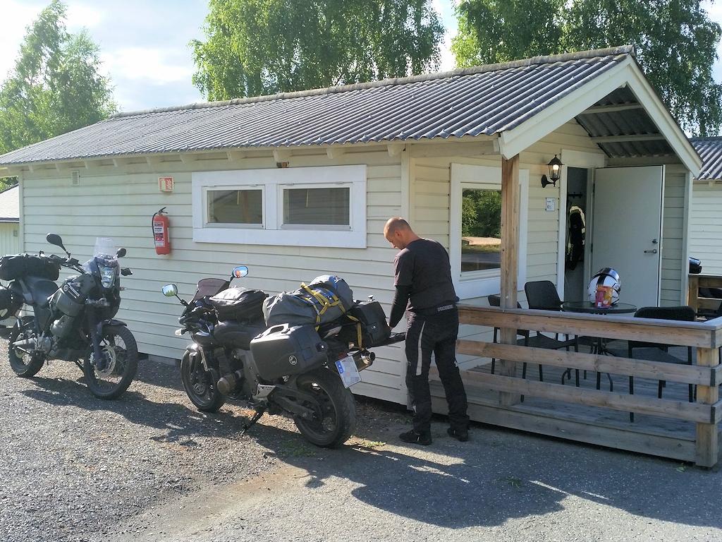 Fjordnorwegen mit dem Motorrad - Unterkunft in Llillehammer