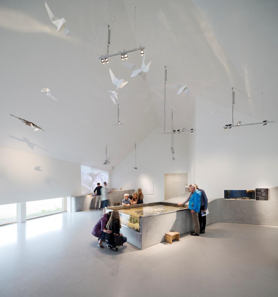 Ausstellungsraum im Vadehavscentret