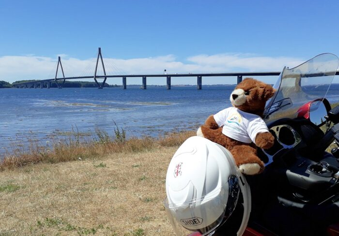 Mit dem Motorrad rund um die Ostsee