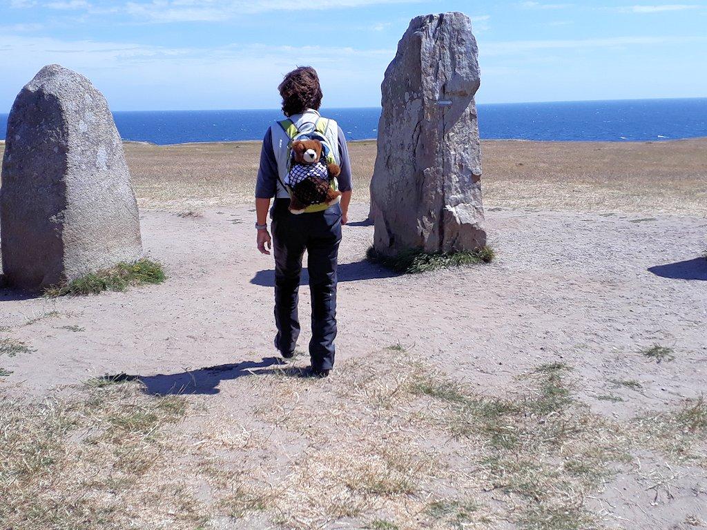 Südschweden - Auf dem Weg zu den Steinen von Ale (Ales stenar)