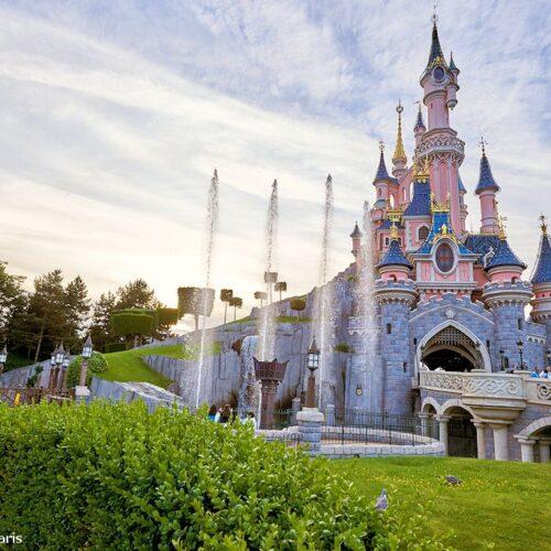 Das Dornröschen-Schloss im Disneyland Paris