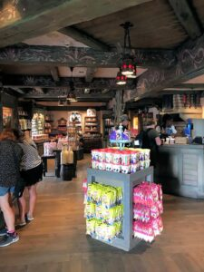 Merchandising im Disneyland Paris