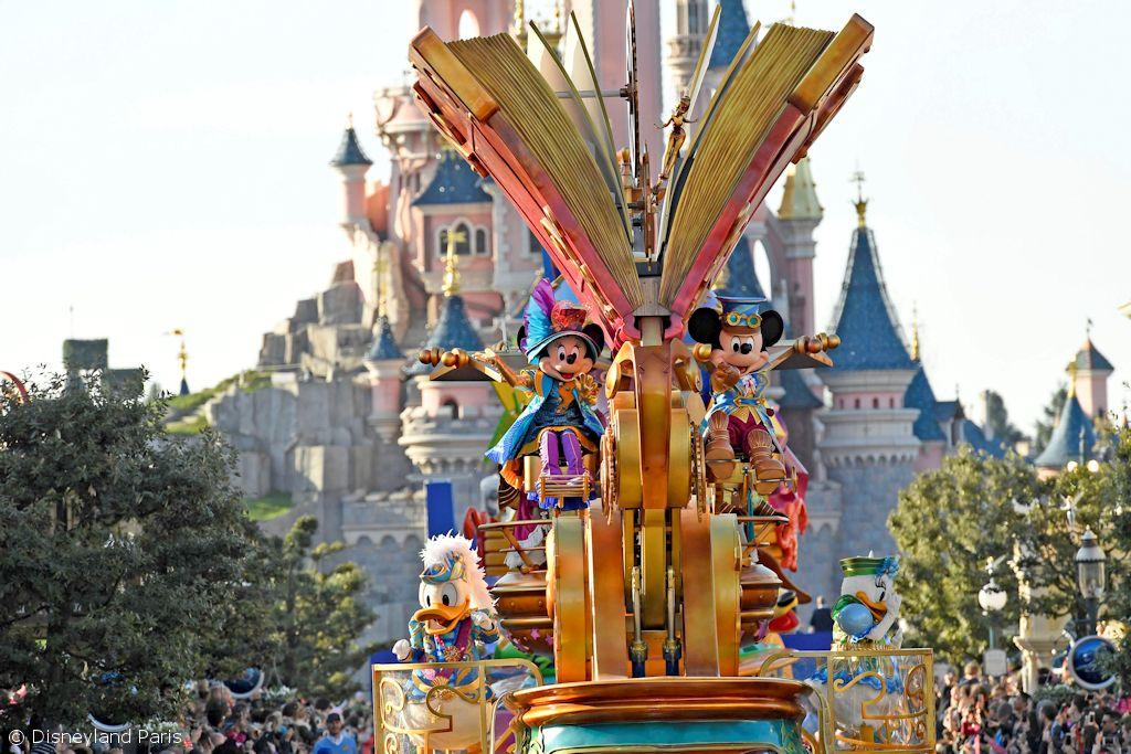 Die große Disney Parade