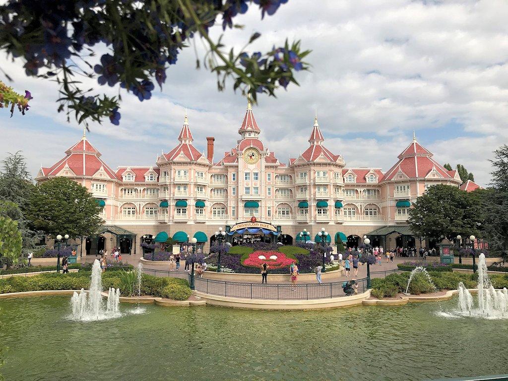 Eingangsbereich Disneyland Paris