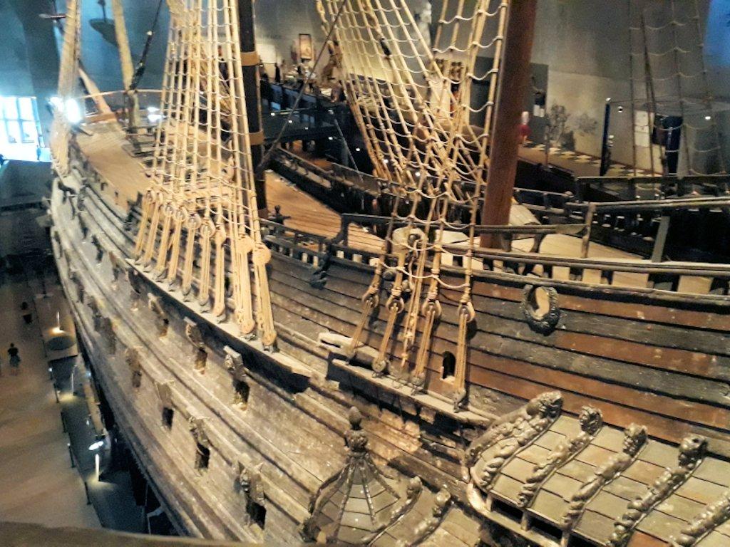 Die Wasa im Vasa-Museum