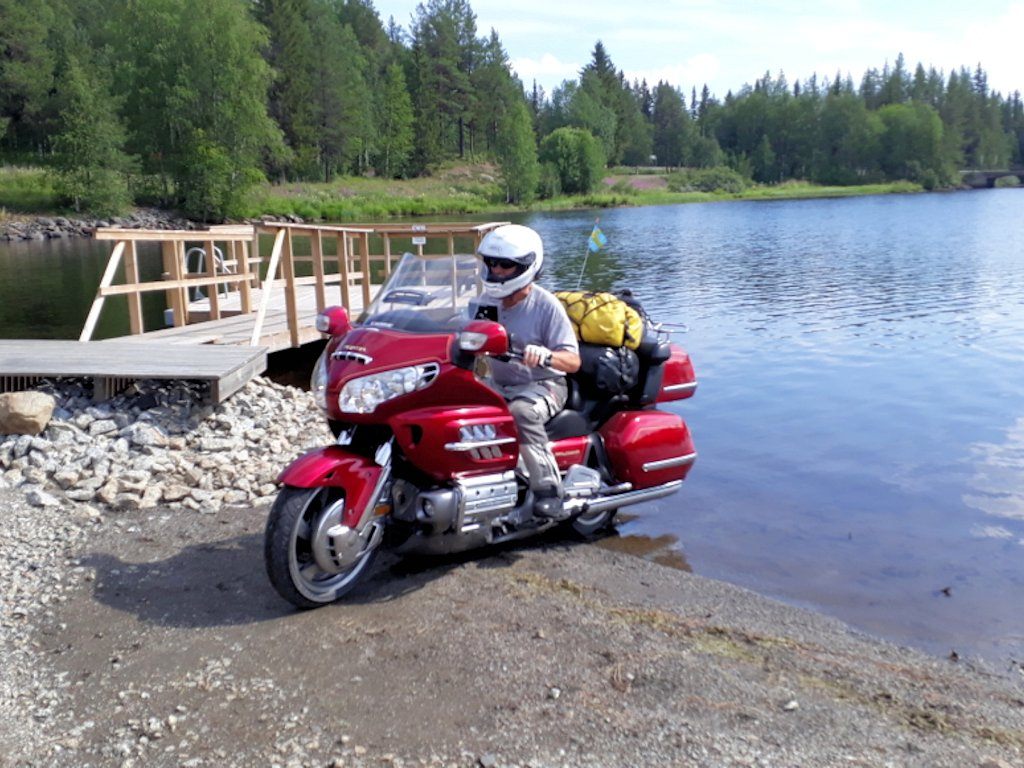 Wasser-Motorrad