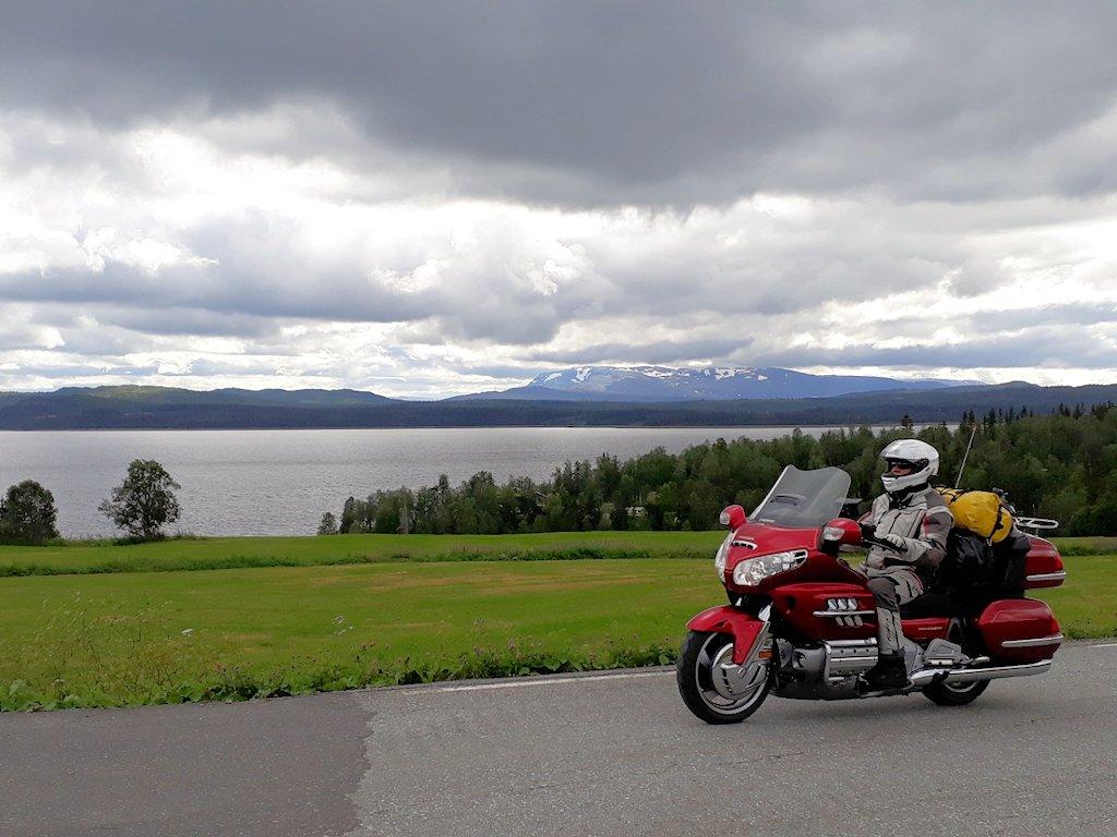 Panoramablick am See