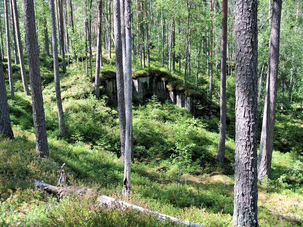 Die Bunkeranlage Skans 179
