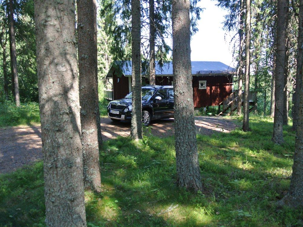 Das Ferienhaus im Wald