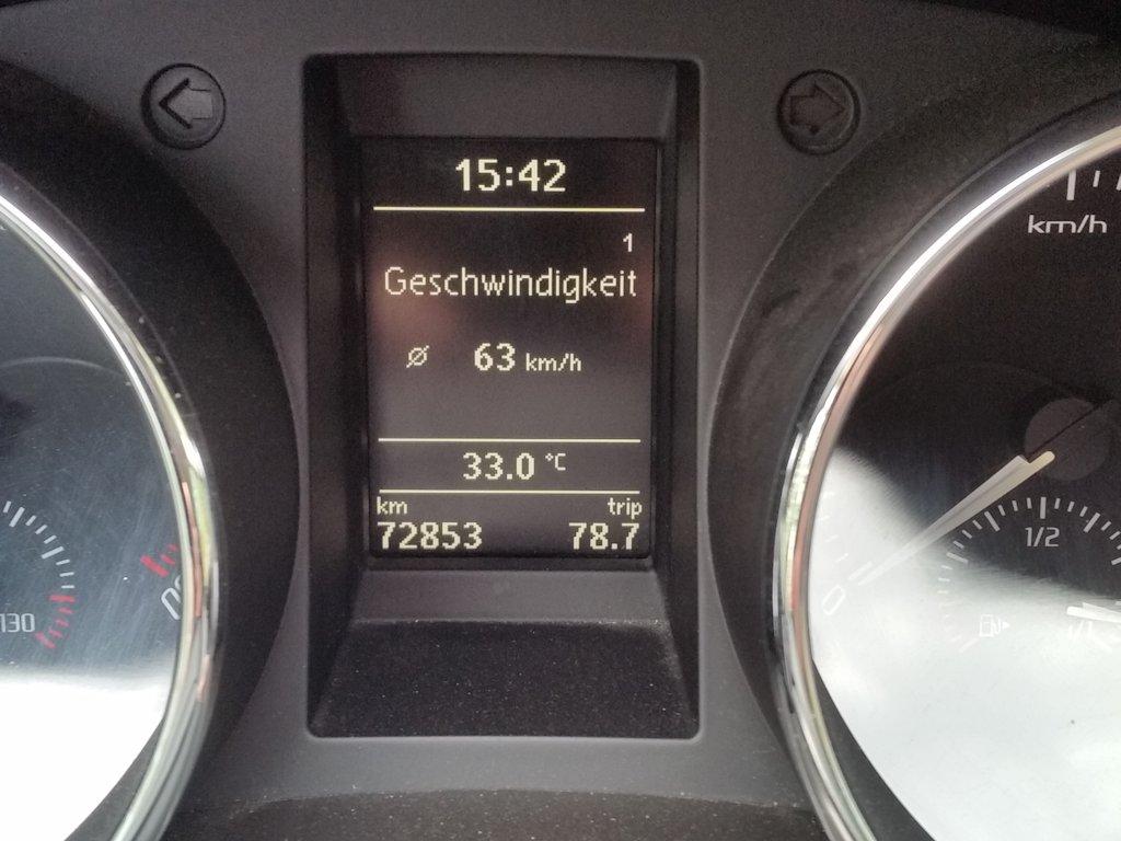 Außentemperatur im Schatten in Schweden ...
