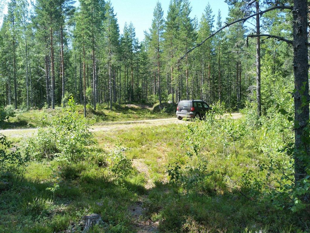 Auf unendlichen Schotterpisten durch die Wälder in Värmland