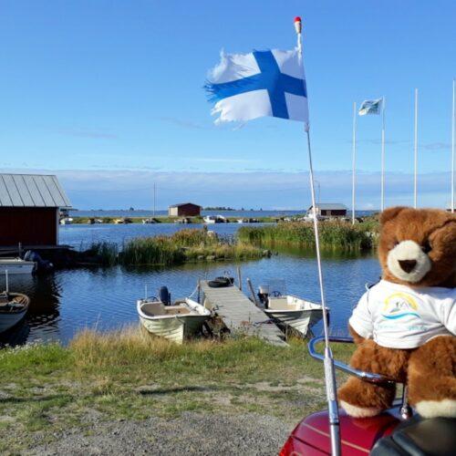 Der Urlaubär in Finnland