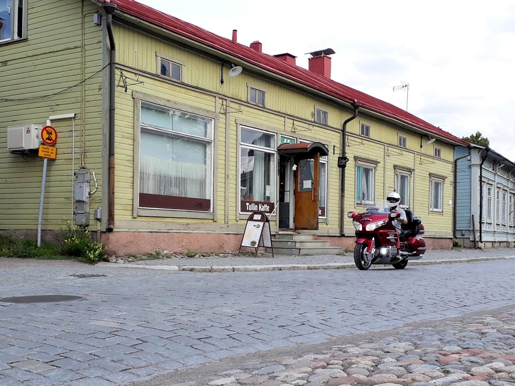 Holzhäuser in Rauma
