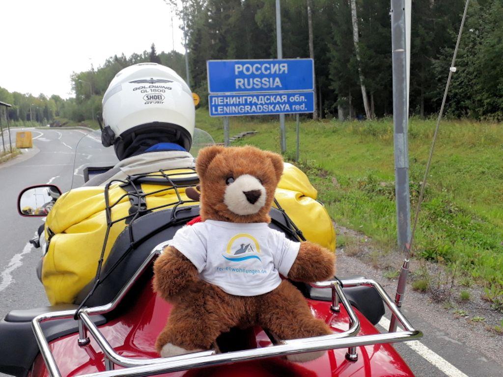 An der Grenze zu Russland