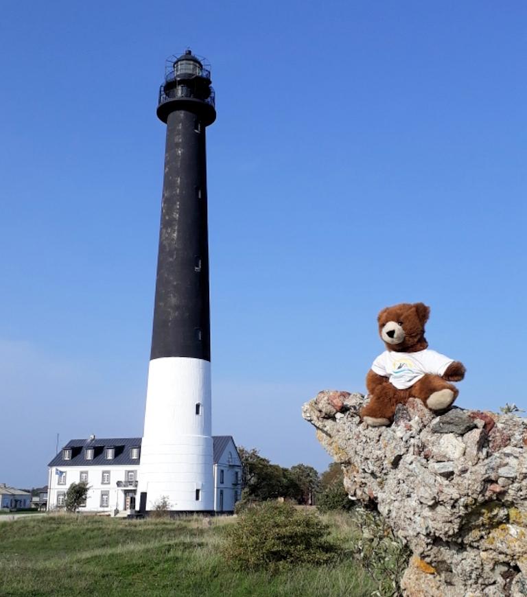 Der Leuchtturm von Sääre auf der Insel Saaremaa