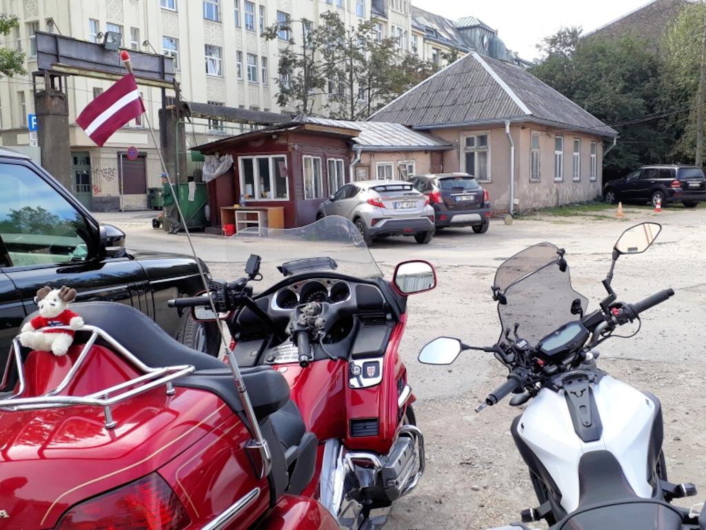 Parkplatz in Riga