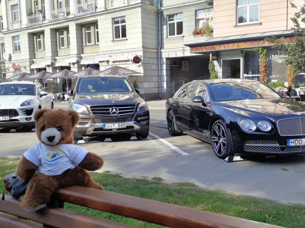 Luxuslimousinen in Vilnius