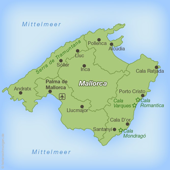 Porto Cristo Karte.Urlaub In Porto Cristo Auf Mallorca Der Urlaubär Unterwegs