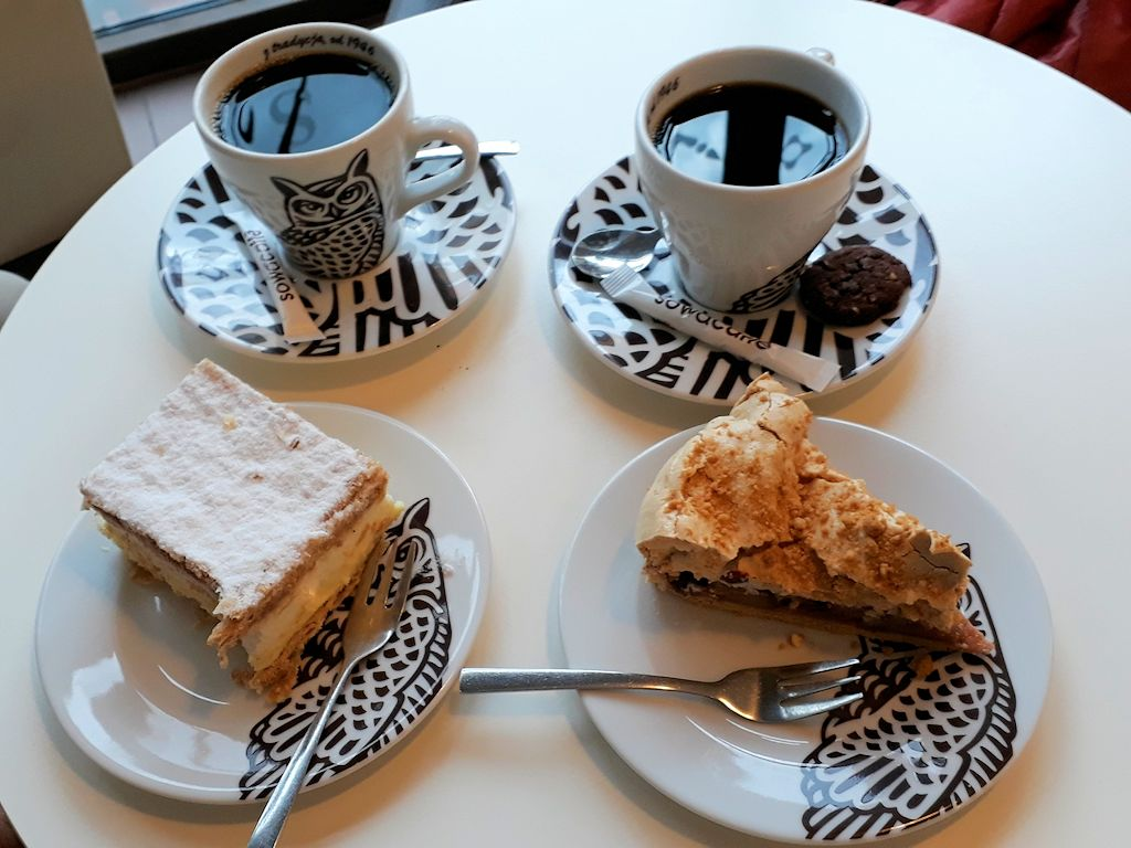 Kaffee und Kuchen für 5,00 Euro