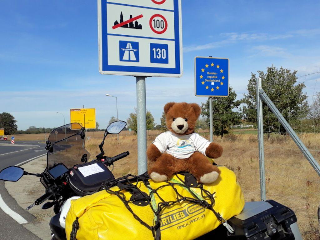 An der polnisch-deutschen Grenze bei Cottbus
