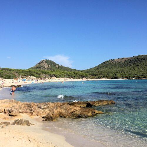 Strand bei Cala Ratjada