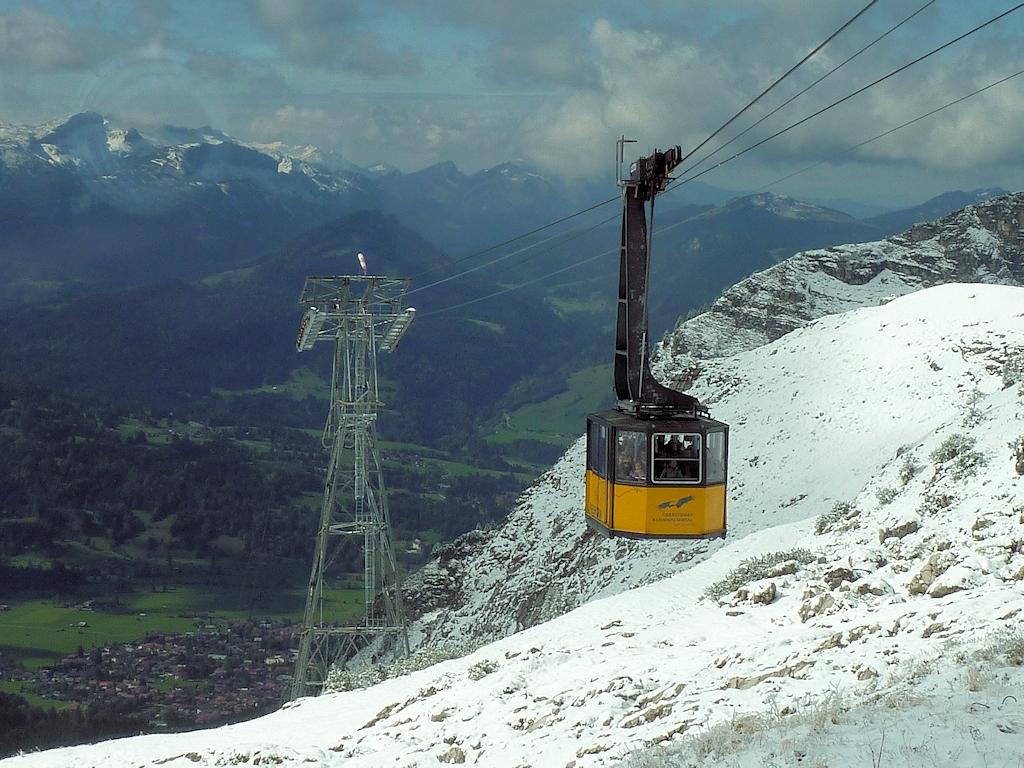 Bergbahn zum Nebelhorn