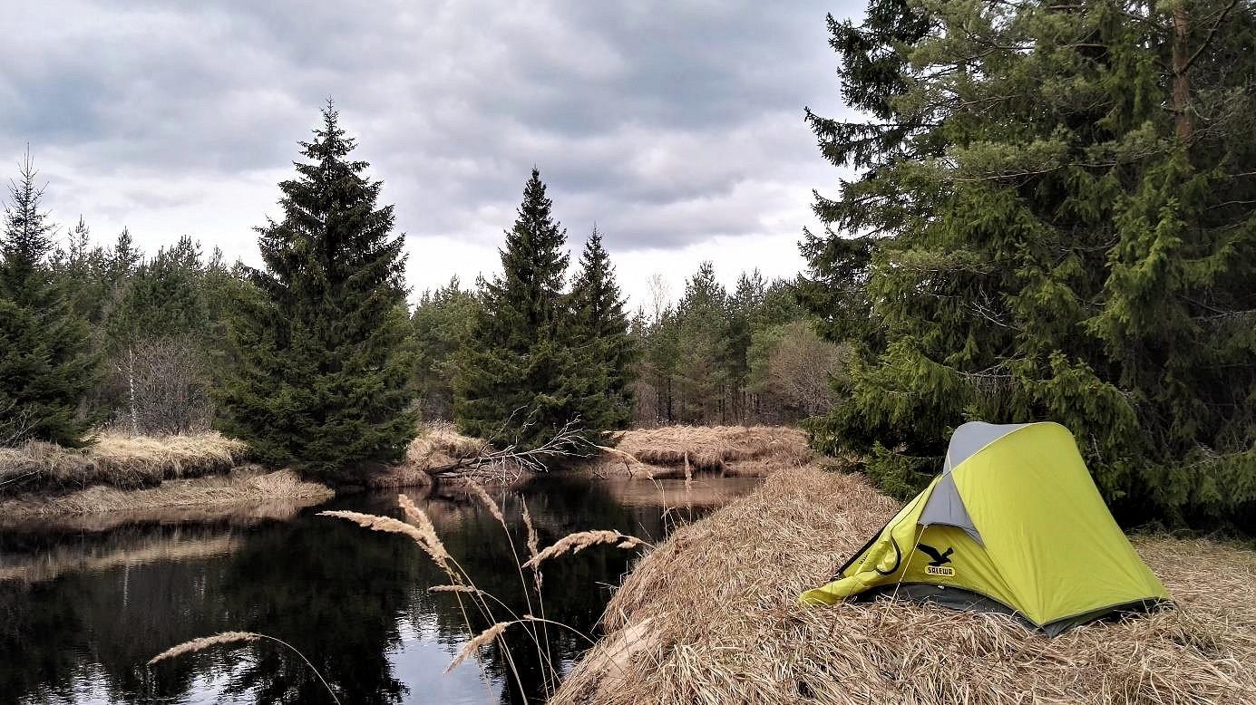 Wildzelten in Schweden
