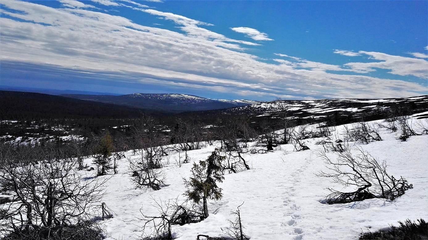 In den Bergen ist noch Winter