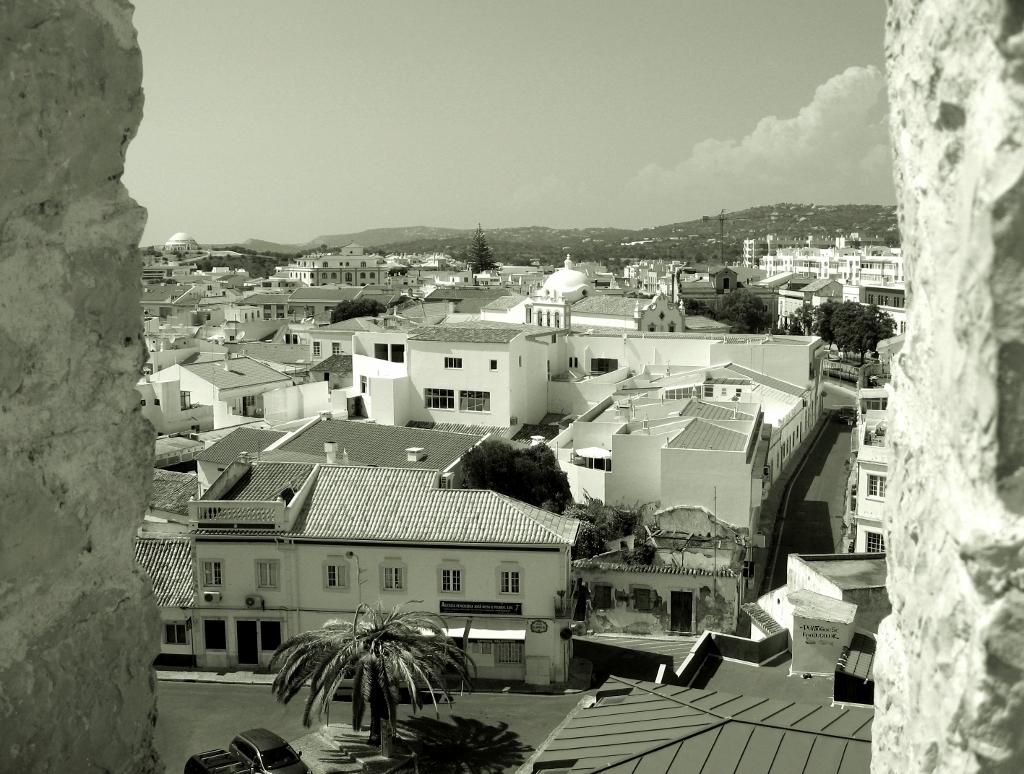 Loulé, Blick vom Castelo
