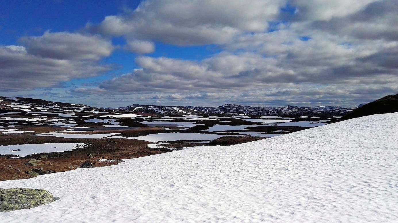 Schneeschmelze in den Bergen