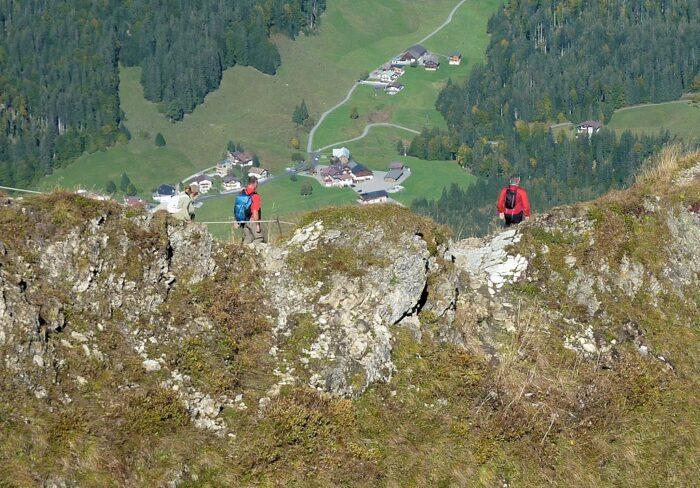 Fellhorn (2.037 m), wenige km von Oberstdorf entfernt