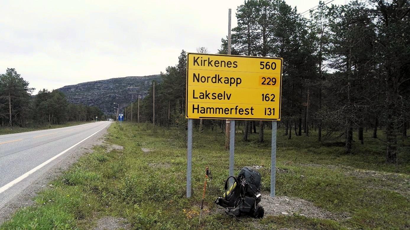 229 Kilometer bis zum Nordkap!