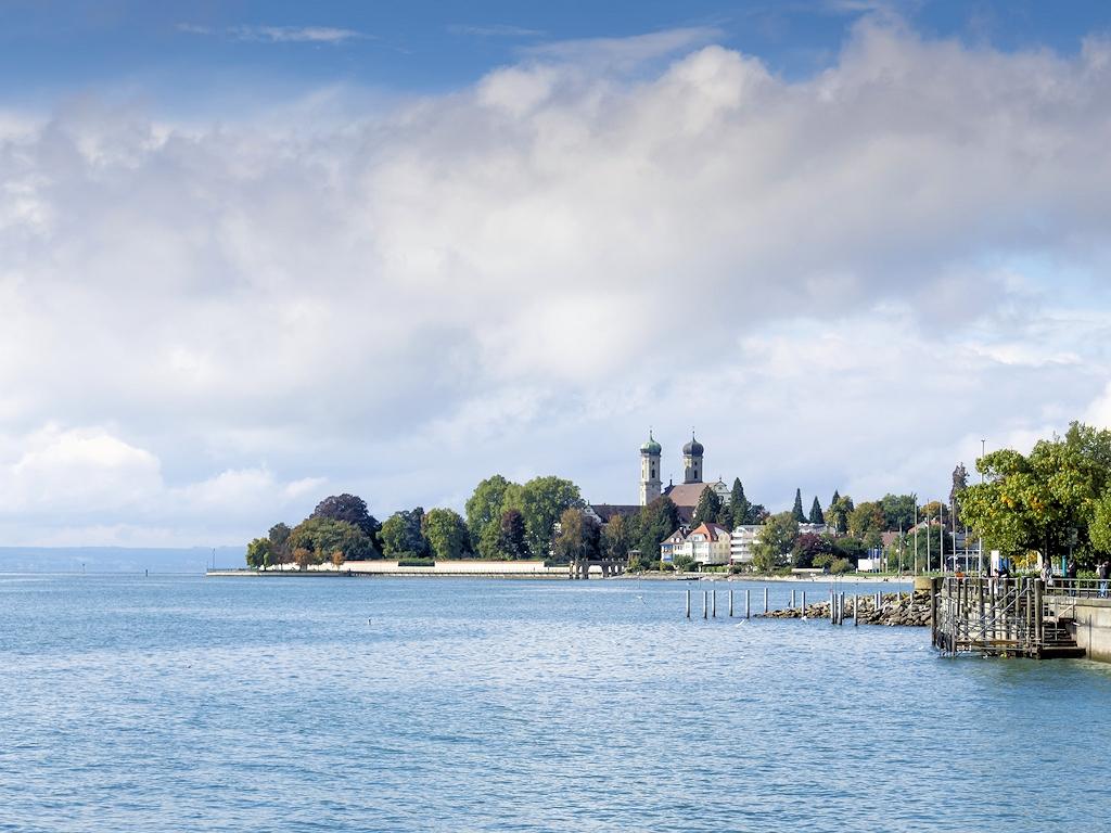 Am Bodensee bei Friedrichshafen