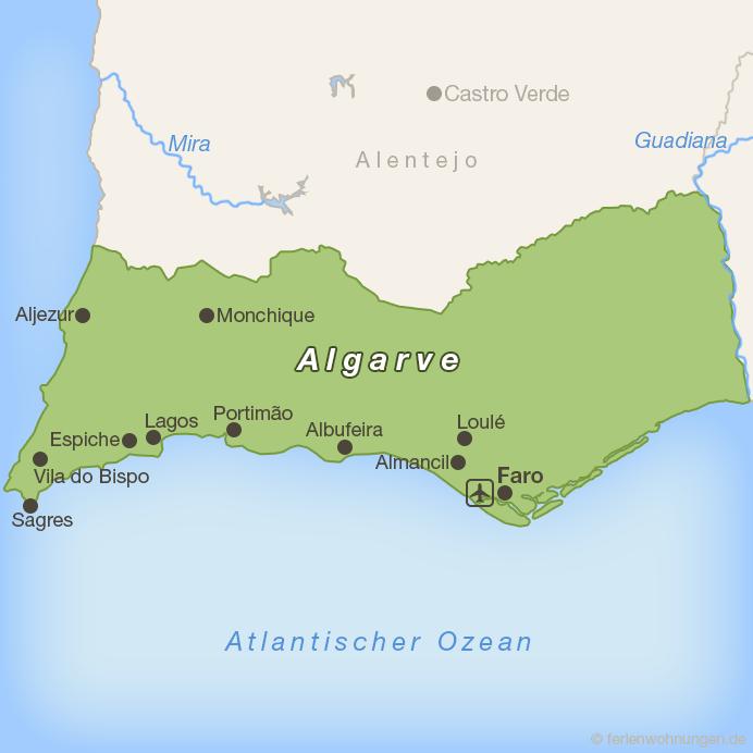 Erkundungen in der westlichen Algarve