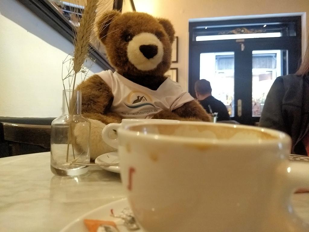 Auf einen Kaffe in der Bar el Born