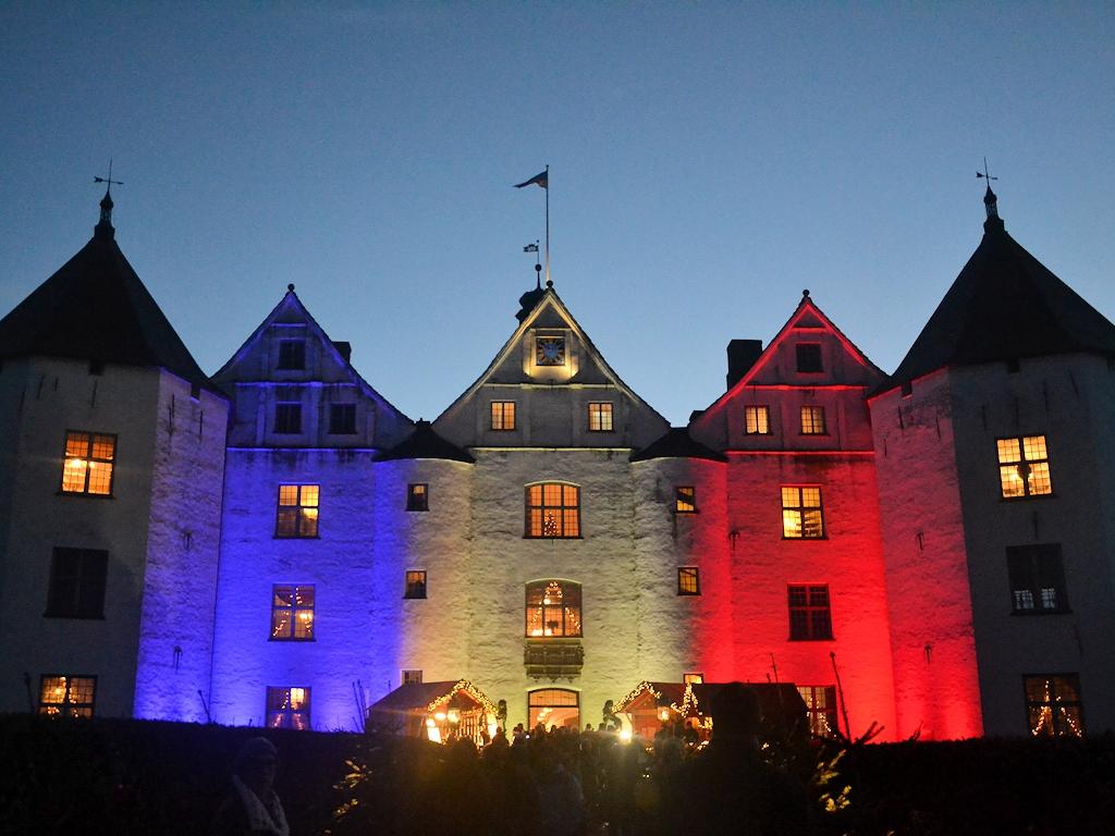 Schloss Glücksburg in der Vorweihnachtszeit