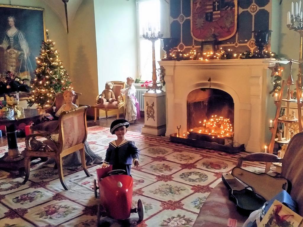 Weihnachten im Schloss