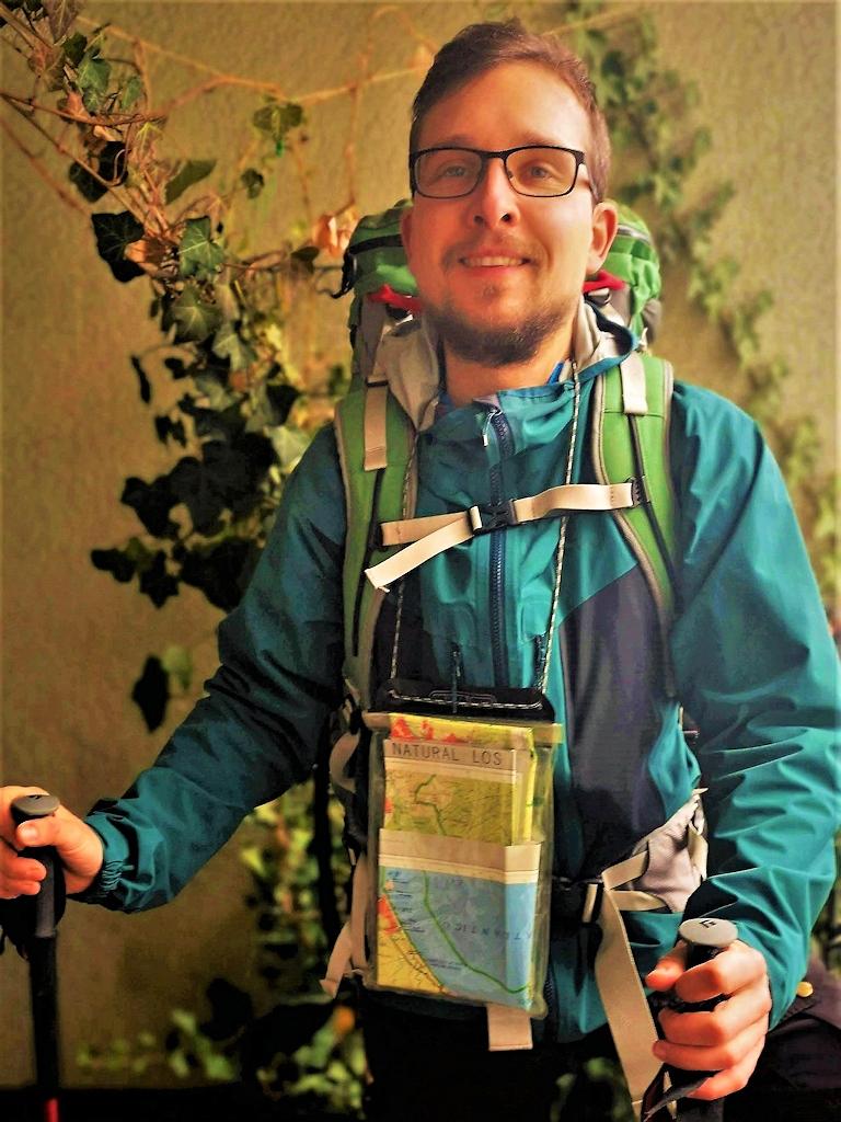 Philipp Fuge: Zu Fuß von Gibraltar zum Nordkap