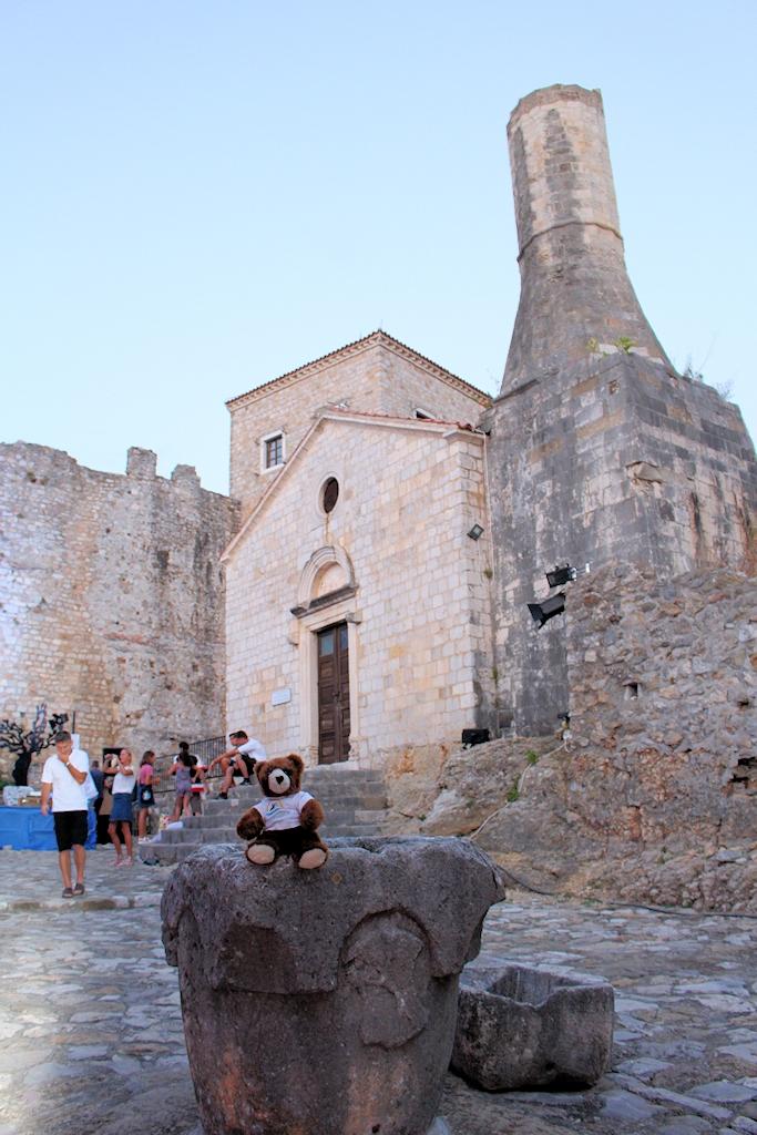 In der Altstadt von Ulcinj