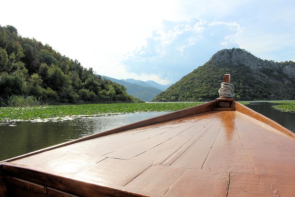 Bootsfahrt über den Skutarisee