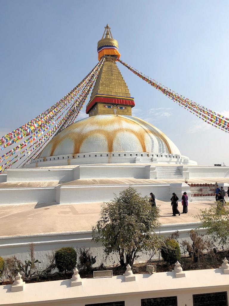 Der Stupa von Bodnath