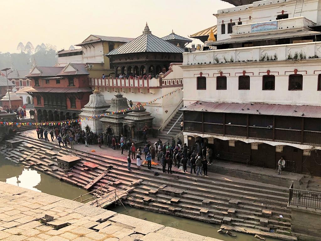 Verbrennung der Toten in Pashupatinath