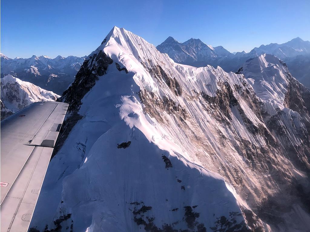 Rundflug durch den Himalaya