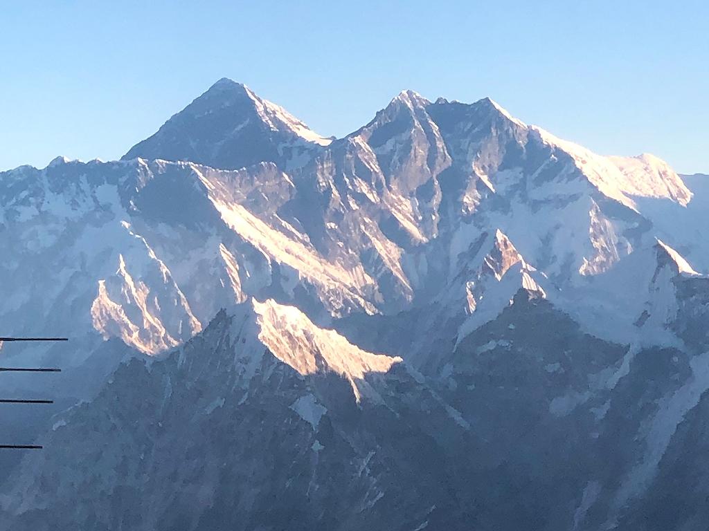 Nuptse und Mount Everest