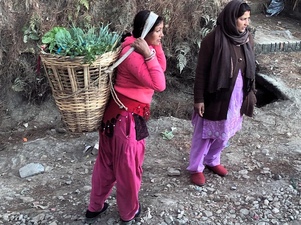 In den Dörfern an Rande der Wanderstrecke