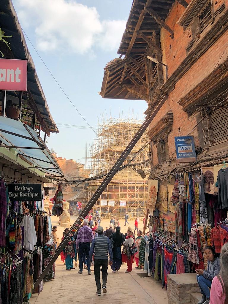 Die Altstadt von Bhaktapur